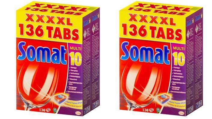 Ausverkauft! Somat Multi 10 Tabs   Geschirrspültabs 272 Tabs für 35,98€ oder 408 Tabs für 50,98€