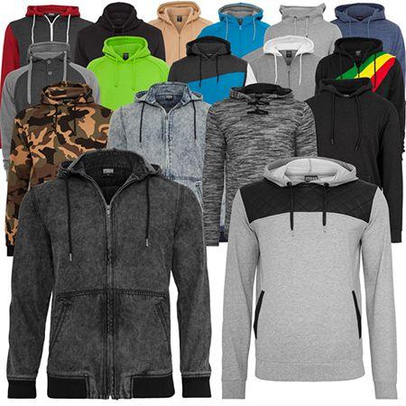 Urban Classics Hoodies Urban Classics Herren Hoodies & Sweater für je 19,90€ (statt 40€)