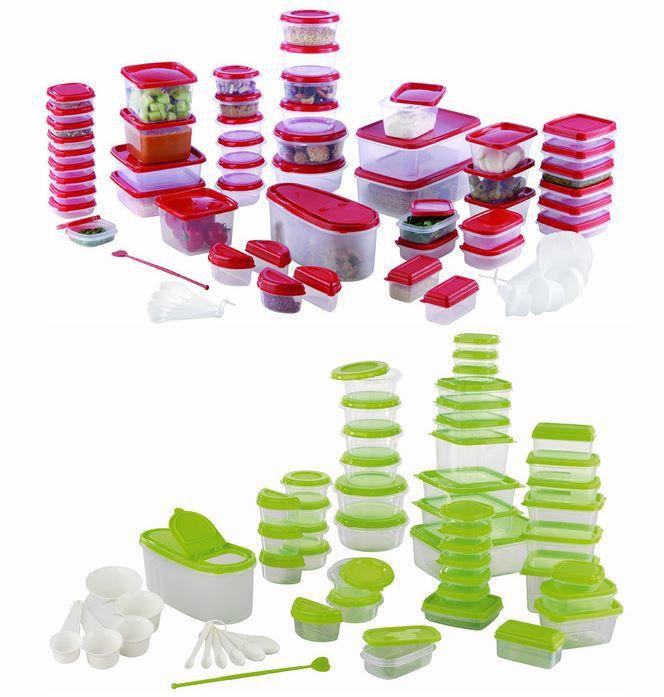 Maxxcuisine Gefrierdosen Set 112 teilig grün für 14,99€