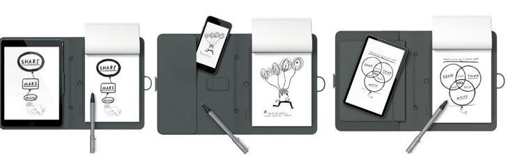 Wacom CDS600P Wacom CDS600C Bamboo Spark Smart Folio   Stiftdigitalizier für 119,90€