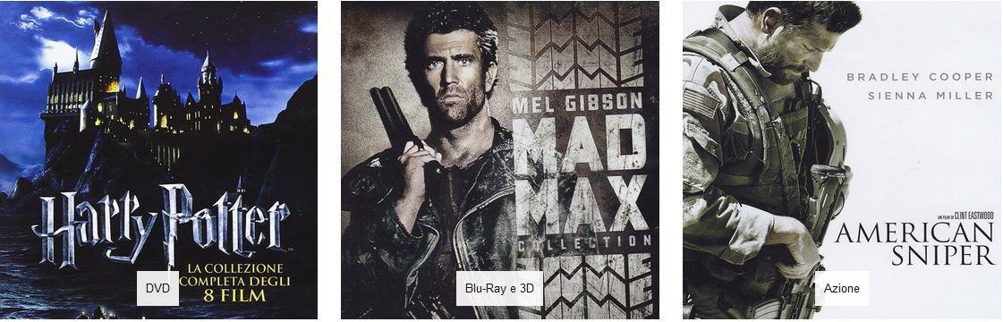 WARNER Filme mit 30% extra Rabatt ab 30€ MBW   Mad Max 1 3 + kompletter Harry Potter für zusammen 25,57€