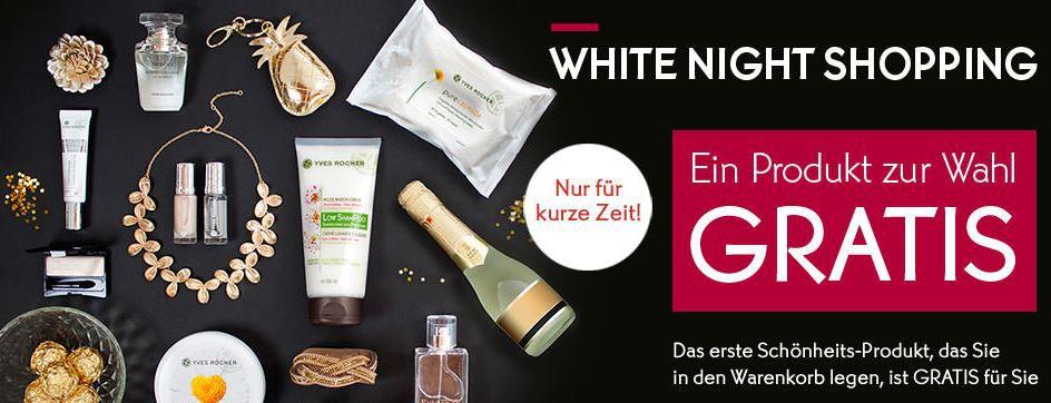 White Nights Yves Rocher   der erste Artikel im Warenkorb ist kostenlos + 5€ Gutschein