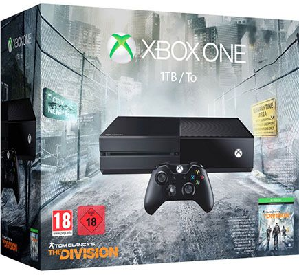 Xbox One 1TB Xbox One 1TB + Tom Clancy's The Division für 239€