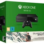 Xbox One 500GB mit 2. Controller + Quantum Break + Rise of the Tomb Raider für 349€