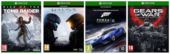 Xbox One Spiele 2 Xbox One Spiele für 59€ bei Amazon.fr