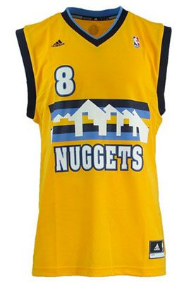 adidas Denver Nuggets Basketball Trikot für 9,99€ (statt 25€)