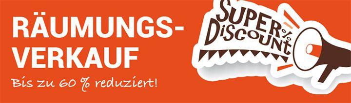 Räumungsverkauf bei D Living: bis zu 60% Rabatt