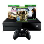 Xbox One 500 GB + Forza Horizon 2 + Far Cry Primal + Halo 5: Guardians für 319€