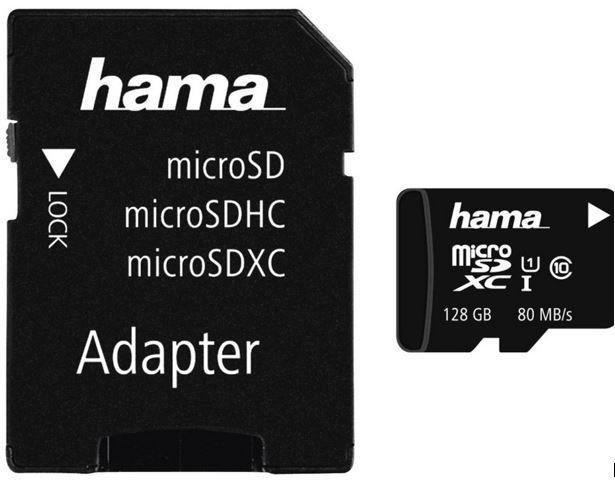 HAMA 124160 Micro SDXC  128 GB Class 10 für 33€