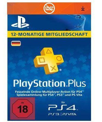 PlayStation Plus Jahresabo für 39,99€ bei Groupon (für Neukunden)