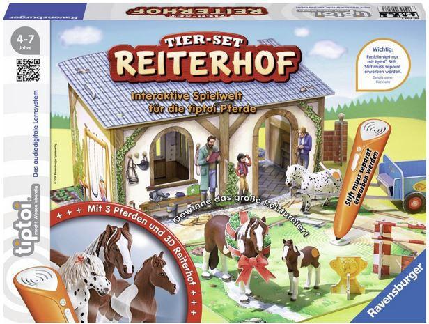 Ravensburger 00707   tiptoi Tier Set Reiterhof statt 30€ für 15,98€