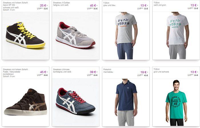 vente asics Asics Klamotten, Schuhe &  Sportswear bis zu 65% reduziert