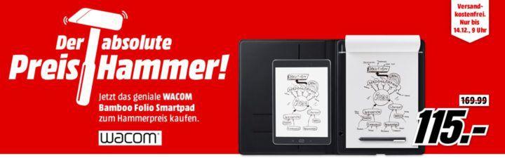 Wacom CDS 810G Bamboo Folio   Stiftdigitalizier statt 166€ für 115€