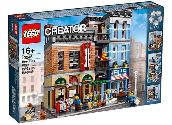 10246 LEGO Creator Detektivbüro für 130€ (statt 150€)
