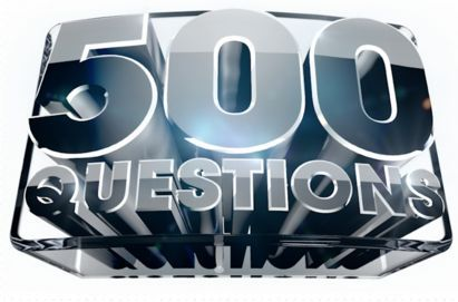 500 Questions Banner