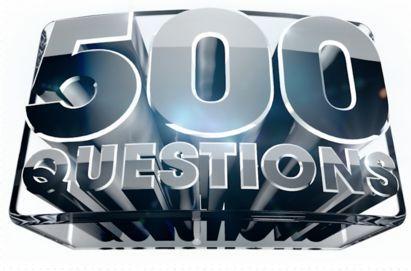 Freikarten für die Quizshow 500 Questions am 04.05. in Köln