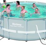 Bestway Frame Pool Power Steel Set (427 x 122 cm) für 295€ statt 414€