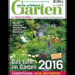 """6 Ausgaben """"mein schöner Garten"""" für 9€ dank 15€ Verrechnungsscheck"""