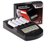 BC-4000 Pro – sehr gutes Ladegerät für z.B. Sanyo / Panasonic Eneloop u.a. Akkus für 33€