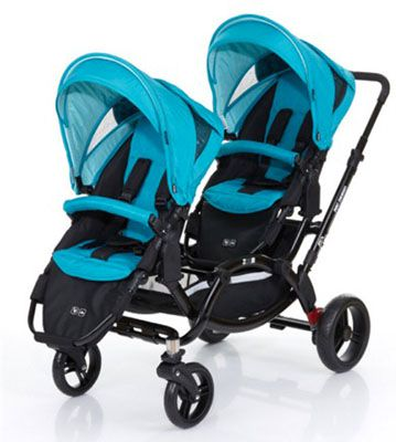 ABC DESIGN Zoom Coral ABC DESIGN Zoom Coral Geschwister Kinderwagen für 322€
