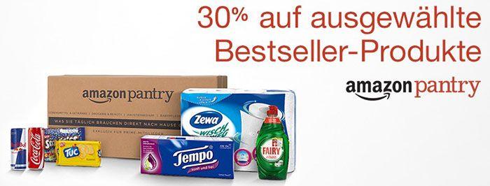30% Rabatt auf Amazon Pantry Bestseller   z.B. 20 Red Bull Dosen für 13,86€   LETZTER TAG!