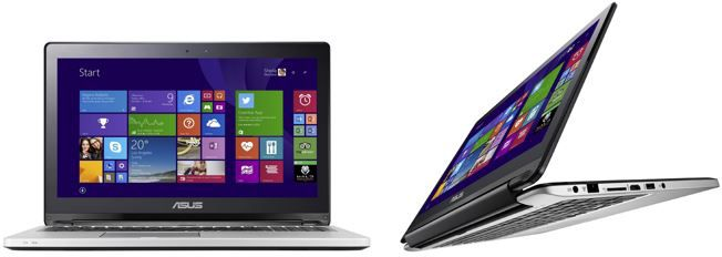 Asus Transformer Book Flip TP500LA DN133H   15,6 Zoll Notebook mit Intel Core i5 für 599€