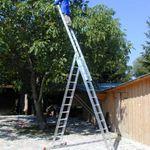 Ernst Mehrzweckleiter Aluminium 3×12 Sprossen Leiter (inkl. Eimerhaken) für 239€ inkl. Versand