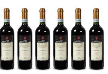 Barbera Casa Bardonecca 2014er   6Fl. trockener Piëmonte Rotwein von Angelo Rocca für 28,89€