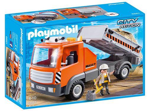 Playmobil Baustellen LKW ab 9,40€ (statt 14€)