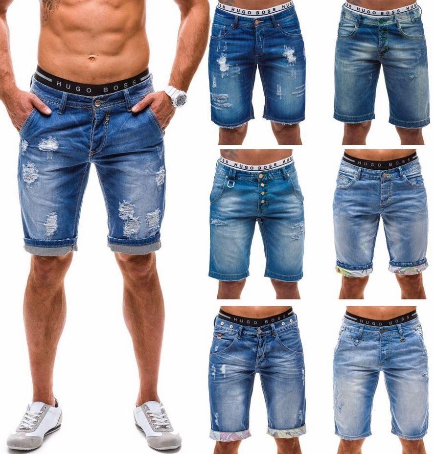 Y  Two Button Fly Herren Bermuda Shorts div. Modelle für je 26,95€
