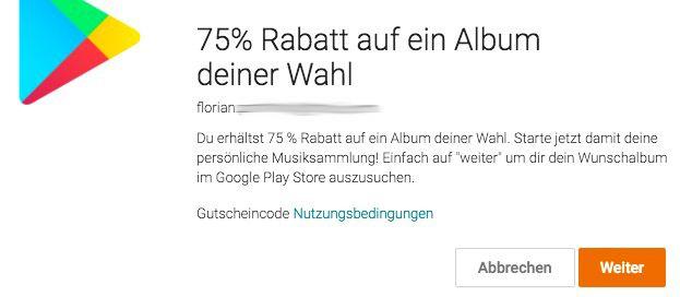 Bildschirmfoto 2016 04 18 um 14.07.17 75% Rabatt auf ein Album eurer Wahl im Google Play Store