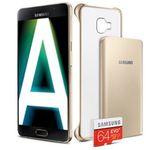Samsung Galaxy A3/A5 + 64GB Speicherkarte + Powerbank + Hülle + o2 Allnet-Flat für 15€ mtl.