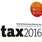 Buhl Data tax 2016 ab 5€ (statt 8€) – Steuererklärung 2015 auch für Selbständige!