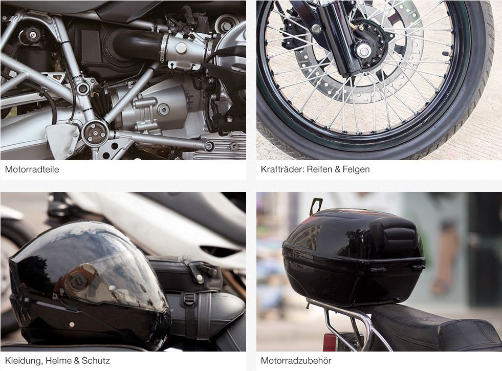 Motorradteile & Kleidung bei eBay mit 10% Rabatt   nur noch heute!