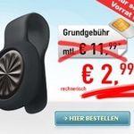 o2 Smart Surf mit 50 Min, 50 SMS & 1GB + Fitness-Tracker für 2,99€ monatlich