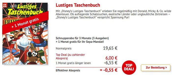 Bildschirmfoto 2016 05 23 um 14.44.25 Lustiges Taschenbuch im mini Abo   4 Ausgaben für nur 6€ (statt 26€)