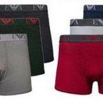 3er Pack Emporio Armani Herren Boxershorts für 19,46€ (statt 32€)
