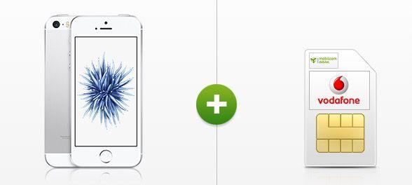 Apple iPhone SE 64GB + Vodafone Allnet Flat + 2,5GB für 29,99€ mtl.