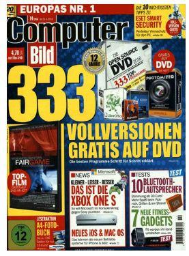 Jahresabo ComputerBILD mit DVD für 139€ + 85€ Verrechnugsscheck & 6 Rabatt