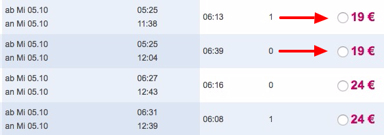 Last Minute DE Bahn Tickets ab 19€ bei ltur   EU Länder ab 39€