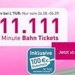 Last Minute DE Bahn-Tickets ab 19€ bei l'tur – EU-Länder ab 39€