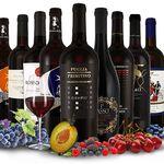 9 Flaschen italienische Rotweine im Probierpaket für 39,99€