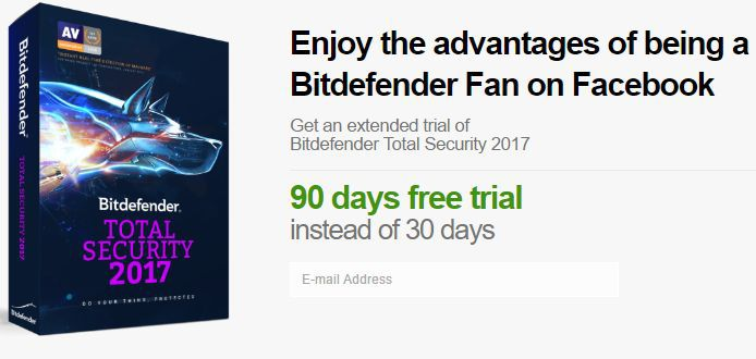 Bitdefender Internet Security 2017 3 Monate gratis