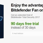 Bitdefender Internet Security 2017 3 Monate gratis