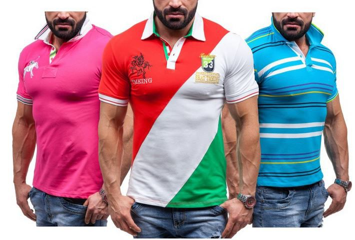 Like Tina   Herren Polosshirts für je 12,95€