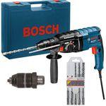 Bosch GBH 2-24 DF – Bohrhammer im Koffer inkl. Bohrer Set für 139€ (statt 209€)