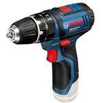 Bosch GSR 10,8 2-Li Akkuschrauber mit Zubehör + 2,0 Ah + 4,0 Ah Akku + Tasche für 94,35€ (statt 112€)