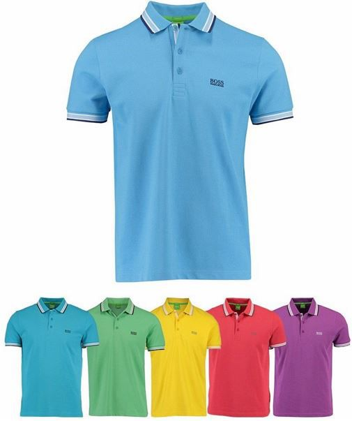 Boss Paddy Polos Shirt Boss Green Paddy Herren Poloshirt für 39,90€ (statt 57€)