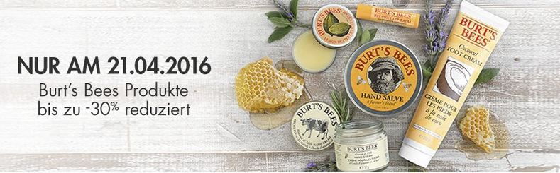 Burts Bees Produkte heute mit bis 30% Rabatt bei Amazon