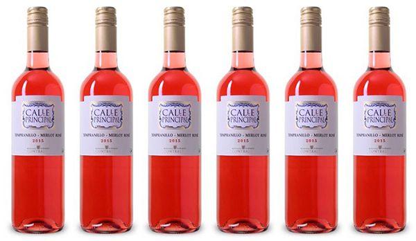 6 Flaschen Bodegas Vinedos Contralto   Calle Principal Rosado für 22,89€